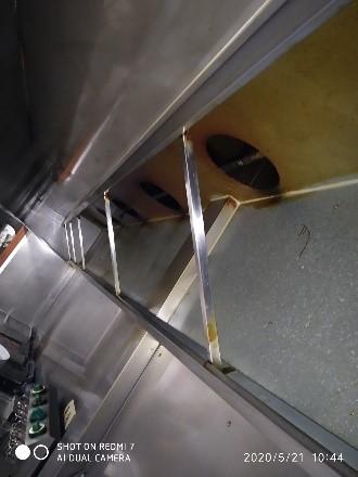 Limpieza de campana – Campana en mal estado antes del servicio