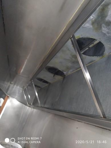 Limpieza de campana – Campana en perfecto estado después del servicio