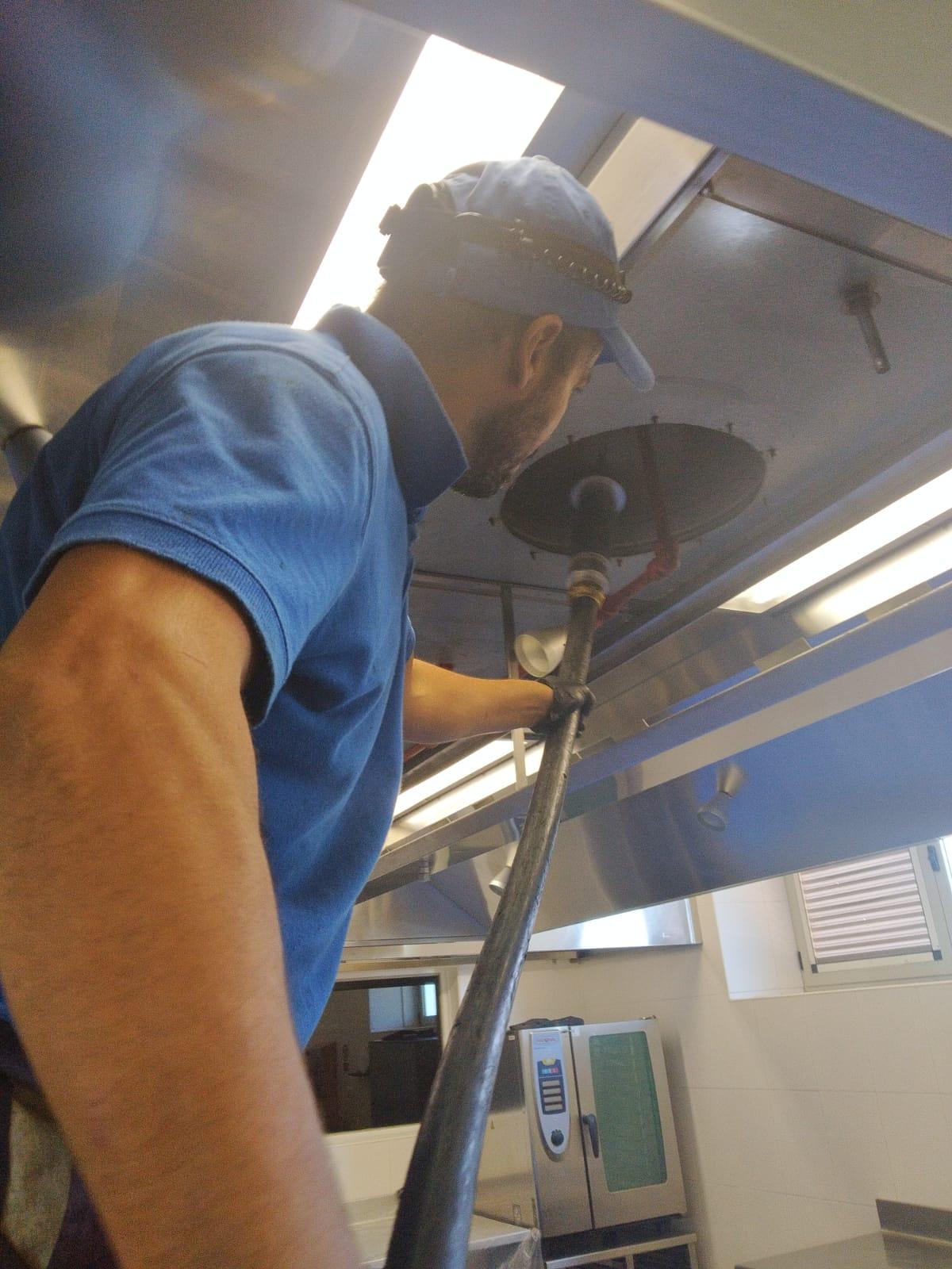 Limpieza de conductos – Cepillado del sistema