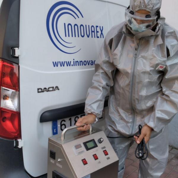 Desinfección Higienización Ozono